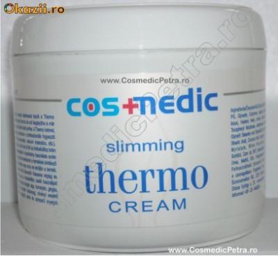 Crema si Gel THERMO Anticelulitic Cosmedic + Crema COLAGEN + Folie Anticelulita 80M foto
