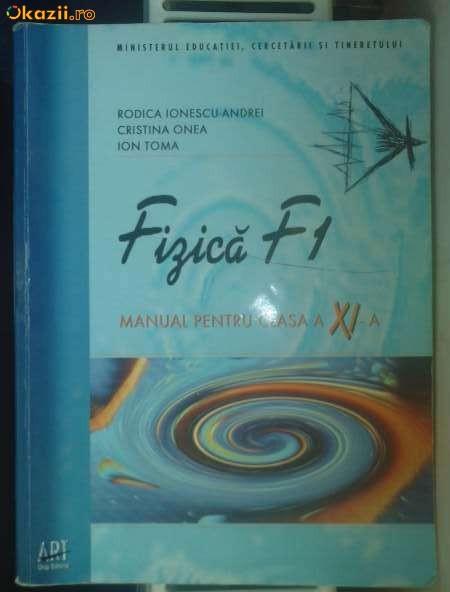 manual fizica f1 clasa XI editura art foto mare