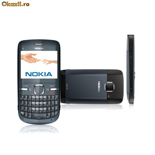 Vand/Schimb Nokia C3-00 Graphite NOU!!!! Schimb cu E71 sau E72