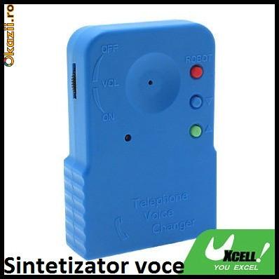 SNTETIZATOR VOCE SCHIMBARE VOCE SPION SPY TELEFON foto mare