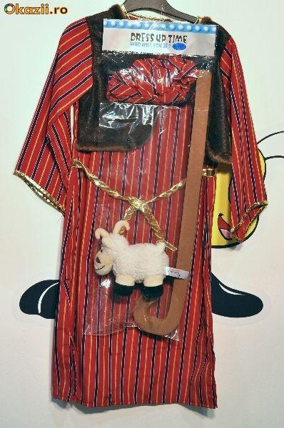 Costum Iosif / Costumatie Iosif / Costum serbare Iosif / Costum pastor / Costumatie pastor / Costum carnaval foto mare