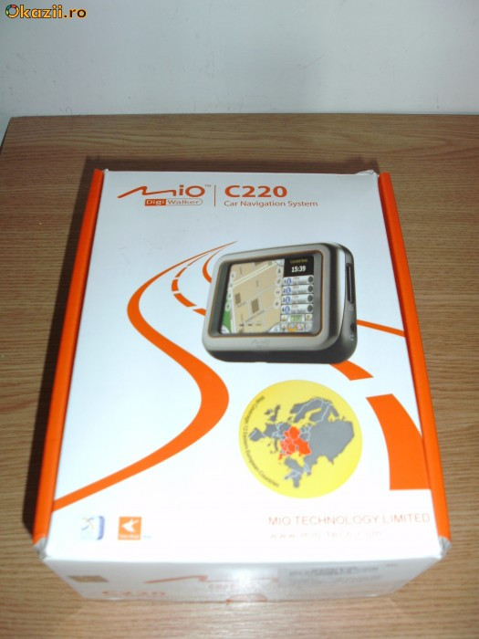 GPS Mio C220 foto.