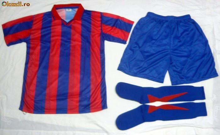 Echipamente   Set    Pleu De Fotbal Rosu Albastru Seniori Si Juniori