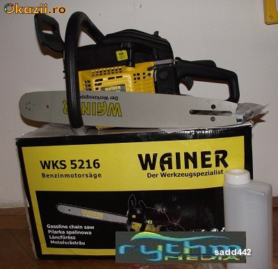 Drujba WAINER WKS 5216 - MOTOFIERASTRAU BENZINA 52CC foto mare