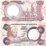 Bnk bn nigeria 5 naira 2002 unc