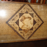 PIROGRAVURA CAP COPIL - Pictor roman