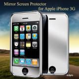 Folie de protectie - FOLIE OGLINDA iPHONE 3GS 3G - MODEL 2011 - NOU!!!
