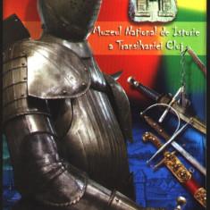 Ilustrata postala, armura si sabii MNI Cluj - Carte postala tematica
