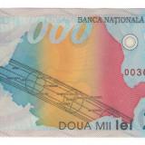 [ RV ] Bancnota 2.000 Lei UNC