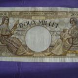 Bancnota 2000 lei 18.11.1941 VF seria D0245