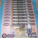 ZAMBIA 2008 - 100 KWACHA - LOT 10 BUC. - UNC