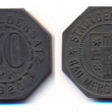 Jeton 50 pfennig 1920, Germania