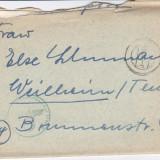 PLICURI CENZURATE MILITAR GERMANIA CNZ 21 - Plic Papetarie