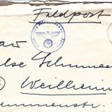 PLICURI CENZURATE MILITAR GERMANIA CNZ 49 - Plic Papetarie