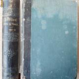 Carte Editie princeps - Buletinul Curtei de Casatie, 1862 - 1863, 2 volume in coligat, legatura in piele