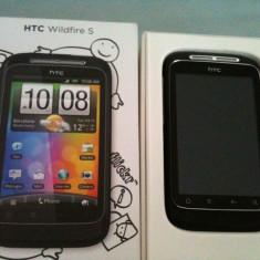 HTC Wildire S nou, nefolosit, pachet complet - Telefon mobil HTC Wildfire S, Neblocat