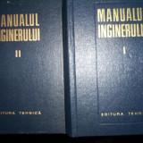 Manualul inginerului(volumul 1, 2)