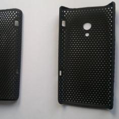 Husa X10 Xperia Sony ericsson din plastic speciala noua culoare neagra model slim