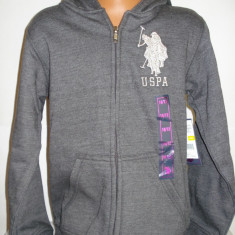 Haine Copii 10 - 12 ani - Hanorac US Polo Assn fete 10-12 ani