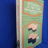 M.CONSTANTINESCU - AUTOMOBILE SI TRACTOARE - 1976