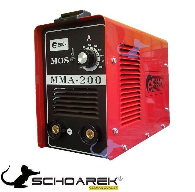 Aparat de sudura Inverter MOSFET ARC 200 EDON import GermaniaModel MMA-200Tensiune / frecventa AC: 220VÂ= 10...