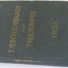 Agenda dictionar medical german 1936 - de colectie