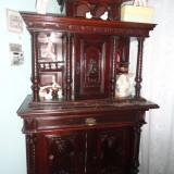 Mobila sculptata veche de peste 100 an