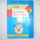 Algebra/geometrie, clasa a VIII-a, partea a II-a - Manual Clasa a V-a
