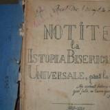 Carti Istoria bisericii - Notite la Istoria Bisericii Universale, pana la 1054- {1929}