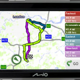 Navigatie GPS Mio Technology MIO, Car Sat Nav, Redare audio, Mesaje trafic (TMC), Touch-screen display, Kit auto