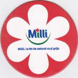 Cartonas de colectie - Suport de pahar / Biscuite MILLI