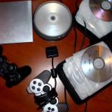 PlayStation 2 Sony Slim modat, 2 manete + Memory Card 8MB + 85 jocuri
