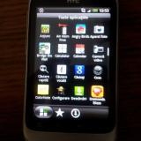 Telefon HTC Wildfire S - Telefon mobil HTC Wildfire S, Argintiu, Neblocat
