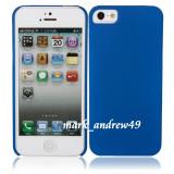 OFERTA: CARCASA HUSA IPHONE 5 - SLIM BLUE - - Husa Telefon Apple