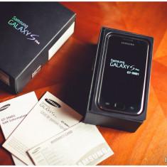 Telefon mobil Samsung Galaxy S Plus, Negru, Neblocat - Samsung Galaxy S Plus I9001 - CA NOU, STARE IMPECABILA, GARANTIE IN ALB!
