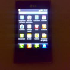 LG optimus L3 e400 - Telefon mobil LG Optimus L3, Negru, Single SIM