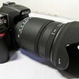 Obiectiv all-around SIGMA 18-250mm f/3.5-6.3 DC OS HSM pentru NIKON - negociabil - Obiectiv DSLR, Autofocus, Nikon FX/DX, Stabilizare de imagine