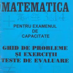 Pelteacu, I. s. a. - MATEMATICA PENTRU EXAMENUL DE CAPACITATE - GHID DE PROBLEME SI EXERCITII - Carte Teste Nationale Altele