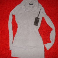 Bluza dama, M/L, Maneca lunga, Universala, Bej, Bumbac - BLUZA DRAGUTA POTEIVITA COLANTI