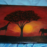 Tablou Savana Africana - Arta din Africa