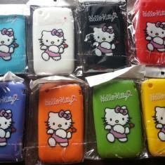 Husa silicon Hello Kitty protectie iphone 3G, 3GS - Husa Telefon Apple