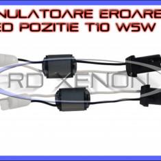 ANULATOR, ANULATOARE EROARE CANBUS BEC ARS POZITIE, NUMAR INMATRICULARE T10 W5W - 5W 47 Ohm - PENTRU LED LEDURI AUTO - Led auto BOORIN