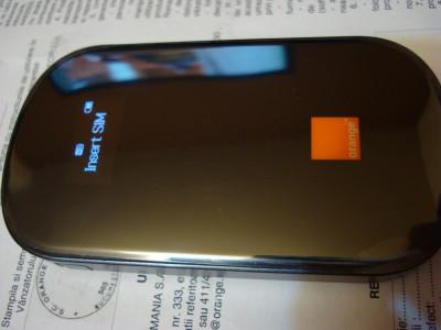 Modem/Router WiFi-MiFi/Hotspot portabil Huawei AirNet H+ E587 / E587u-2, nou in tipla, sigilat, NECODAT, gar. REALA Orange 24 luni foto