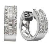 Cercei Diamante, 1/4 ctw, 14 k - Cercei cu diamante