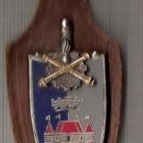 C346 Medalie(insigna)Consiliul International de Sport Militar -C.I.S.M. -marime cca 105X33X(61x22) mm, greutatea aprox 17 gr. -starea care se ved