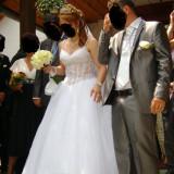 Rochie de mireasa printesa - Vand rochita de mireasa tip printesa