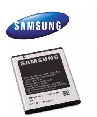 ACUMULATOR SAMSUNG Galaxy Fit S5670 ORIGINAL NOU MODEL EB494358VU Li-Ion 1350mA  BATERIE TELEFON MOBIL ORIGINAL foto