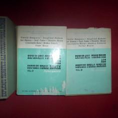 Explicatii teoretice ale codului pena roman(volumul 1+2, partea generala/volumul 3+4, partea speciala)-Vintila Dongoroz+colaboratori - Carte Codul penal adnotat