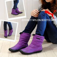 Ghete femei Puma Zooney Nylon Boot WTR 352597-02 - Ghete dama Puma, Marime: 38, 40, Culoare: Mov