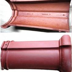 Tigla ceramica - COAME CERAMICE TONDACH ROSII NOI 130 BUCATI